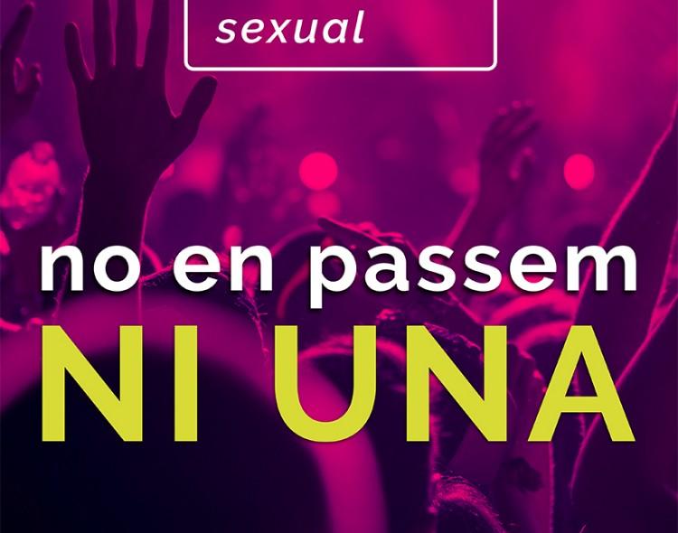 Protocol d'actuacions per lluitar contra les violències sexuals en entorns d'oci