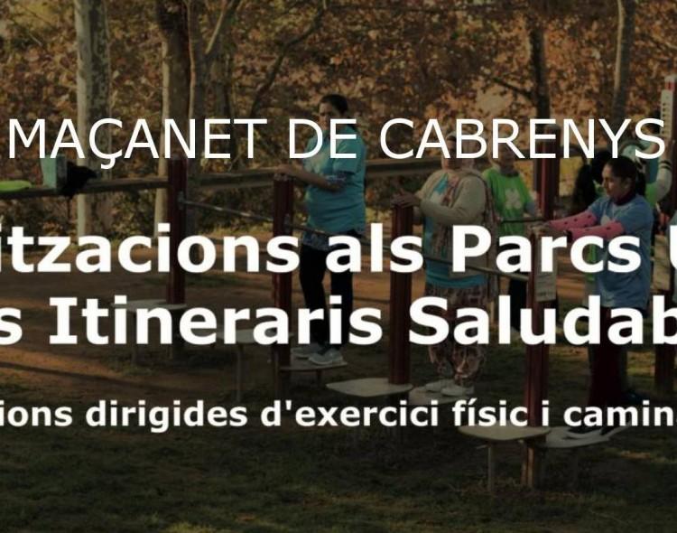 Dinamitzacions al Parc de Salut Urbà
