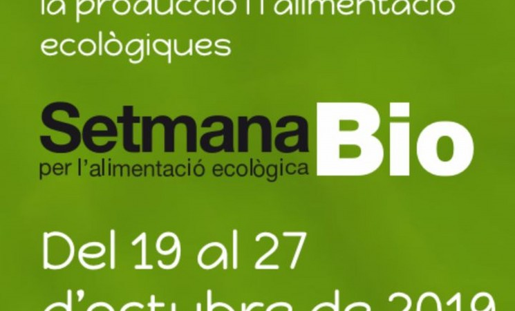Setmana Bio per l'alimentació ecològica